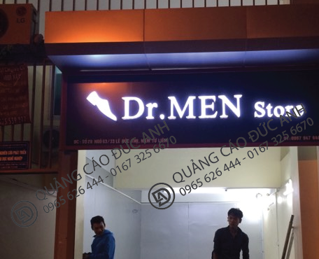 biển quảng cáo cửa hàng ốp alu