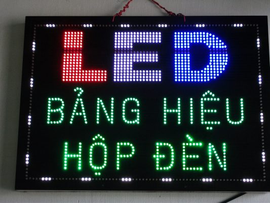 Các bước thi công bảng biển quảng cáo đèn led chuyên nghiệp 1