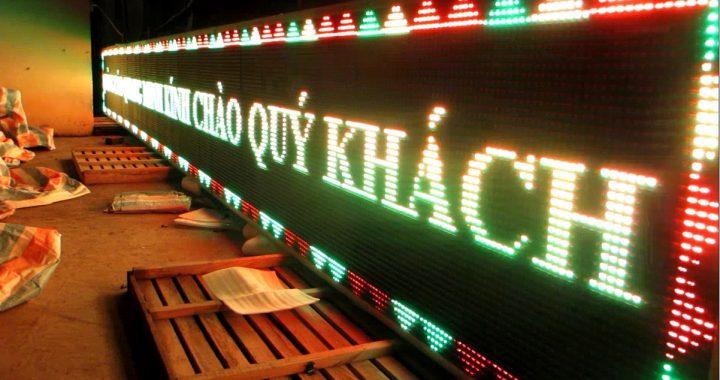 Địa chỉ lắp đặt biển hiệu hộp đèn led tại Hà Nội 1